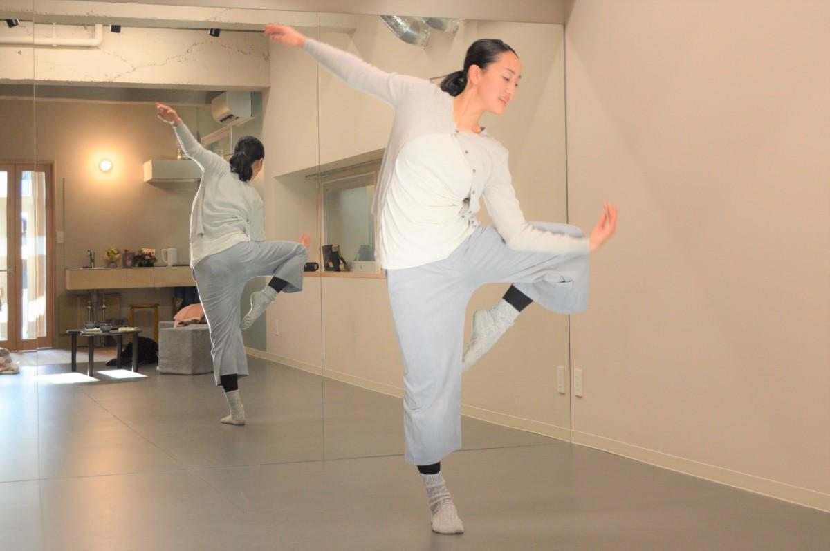 「studioハレマニ」オーナーで舞踊家の笠井さん