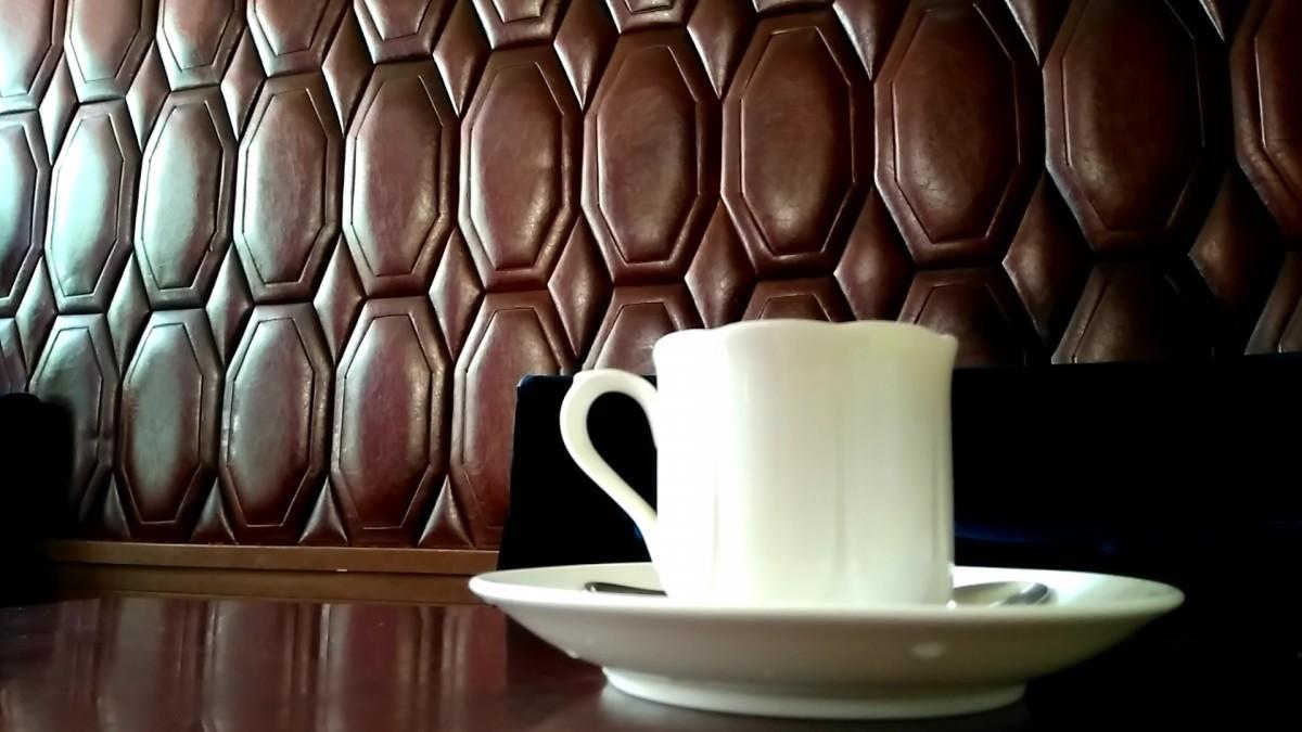 みかさのコーヒーとクッション壁