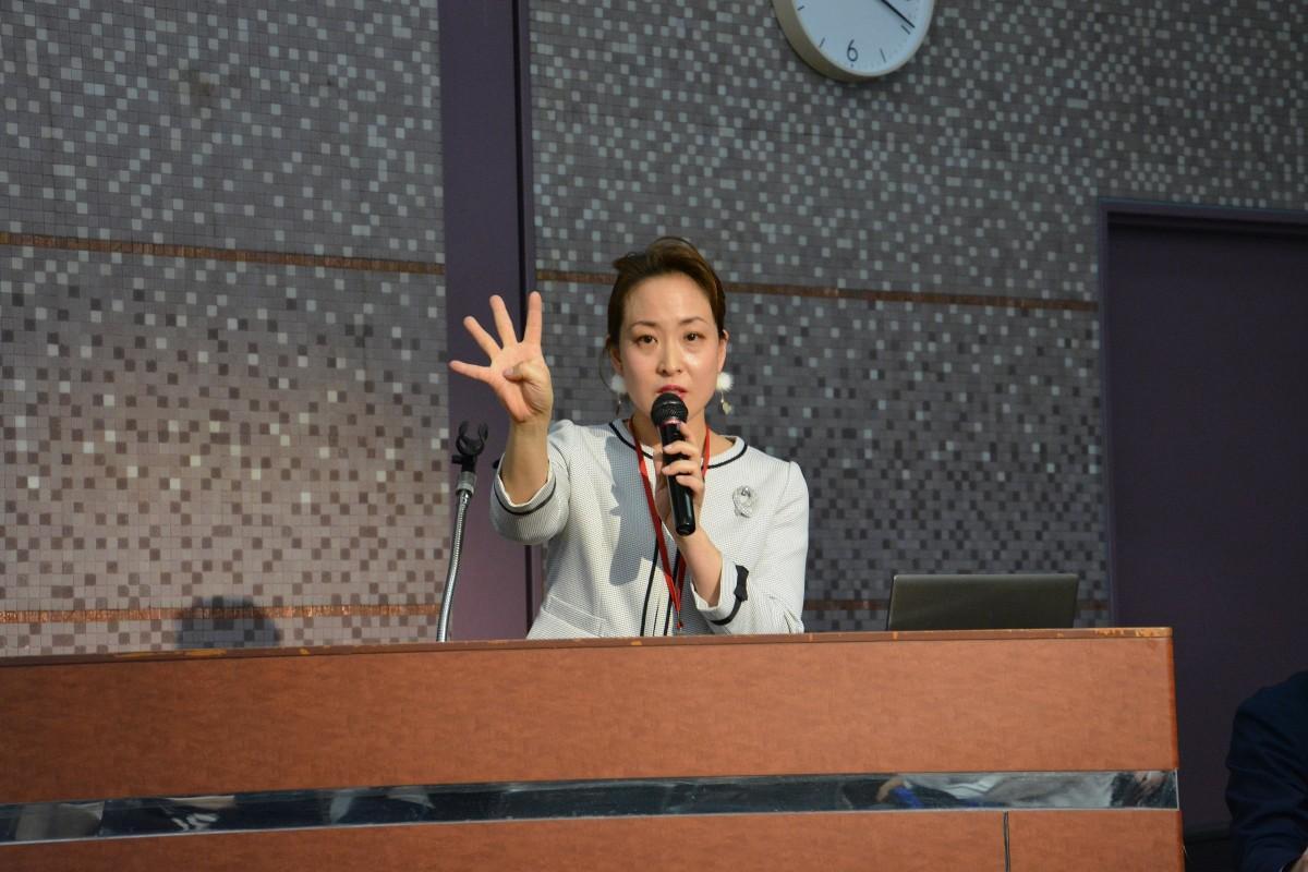 最優秀賞「日本産後ダイエット協会」新井雅美さん