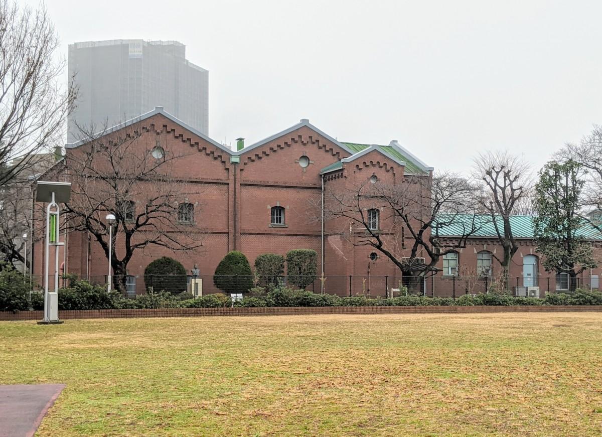 滝野川の赤レンガ酒造工場