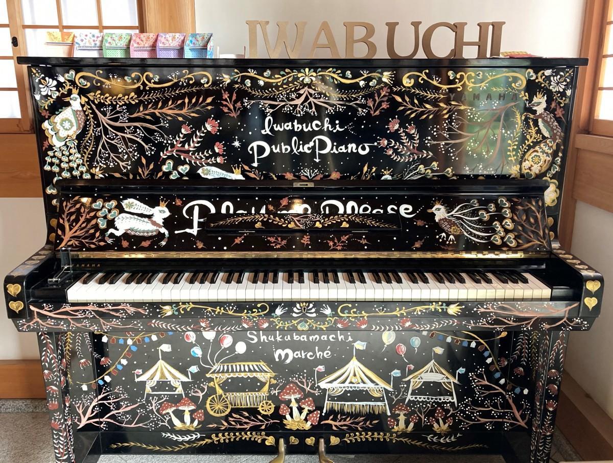 正光寺に設置されている「寺ピアノ」