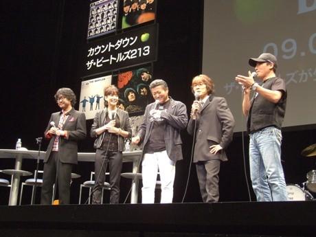 ゲストに登場した倉本美津留さん、内田恭子さん、小倉智昭さん、坂崎幸之助さん、赤坂泰彦さん。