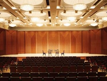 会場となる小ホール「ブルーローズ」 写真提供:サントリーホール