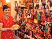 赤坂にインド料理店「ゴータマ」-民族衣装「サリー」を着て飲食も