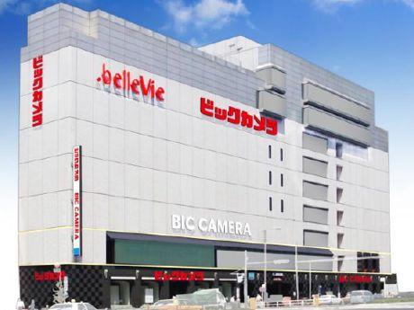 ビックカメラ赤坂見附店の完成イメージ(東京メトロ提供)