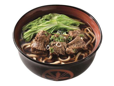 主力メニューの「台湾牛肉麺」