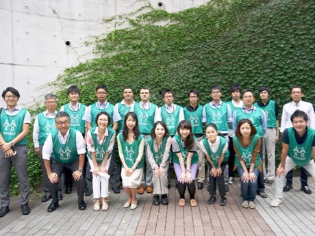 グリーンバード赤坂チームのメンバー