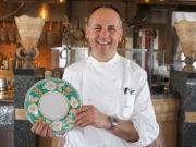 ニューオータニにアマルフィ海岸の5つ星ホテルシェフ来日 マヨルカ焼の皿進呈メニューも