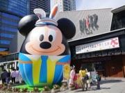 赤坂サカスで「ディズニー・イースター」 ミッキーを模した巨大イースター・エッグも