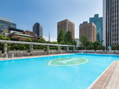 ANAインターコンチネンタルホテル東京の「ガーデンプール」