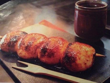 モチモチとした食感と特製みそだれの甘みが特徴の群馬県の焼きまんじゅう
