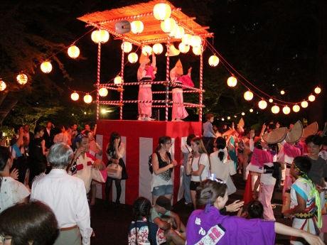 昨年行われた「大江戸紀尾井町祭」の模様