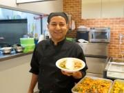 上智大学にハラルフード専門食堂 カレーや小鉢付き朝食セットも
