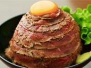 赤坂に「the 肉丼の店」 メガ盛りローストビーフ丼など提供