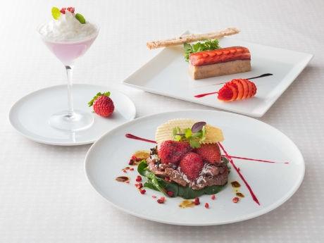 ザ・キャピトルホテル東急で「ストロベリーフェア」 イチゴ尽くしのコース料理も