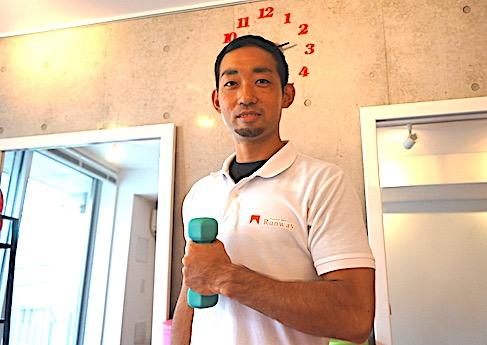 「トレーニングを多くの人に広めたい」と意気込むチーフトレーナーの佐藤誠さん