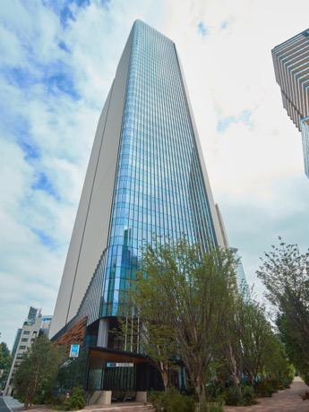 9月29日に開業した「赤坂インターシティAIR」