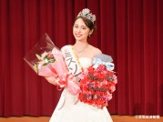 上智大、ミスソフィアに総合グローバル学部4年の内田侑希さん フラダンスで会場を魅了