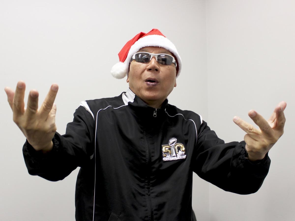 69歳ではじめてラップに挑戦したマック赤坂さん