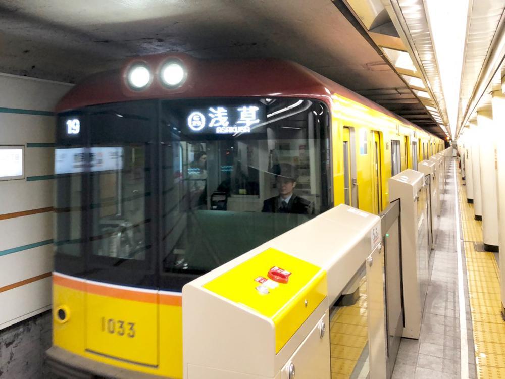 5月3日~5日に溜池山王駅-青山一丁目駅間で運休する銀座線