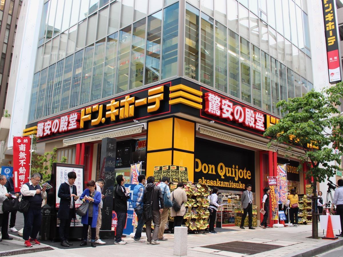 5月10日には店前に開店を待つ列ができた