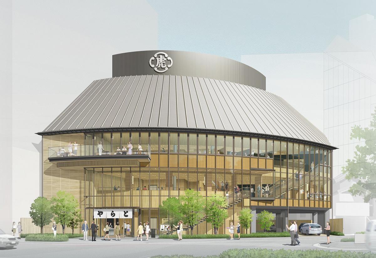 10月1日の寅(とら)の日にリニューアルオープンする「とらや 赤坂店」の完成予定図(イメージ画像)