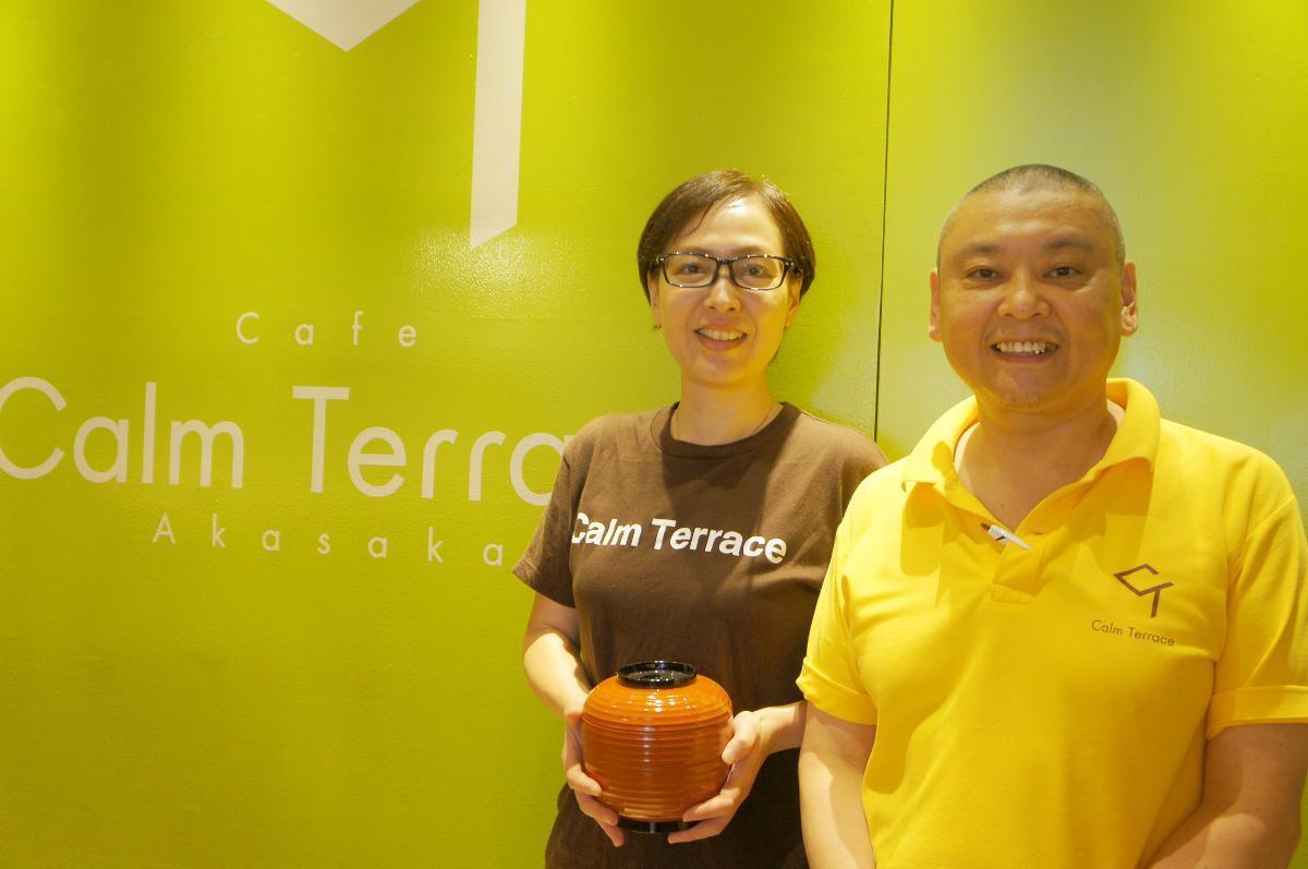同店マネージャーの櫻澤由美子さん(写真左)とご主人でシェフの櫻澤亮さん(写真右)