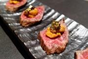 赤坂に「ご褒美食材のbar カケル」 トリュフやウニなどをカジュアルメニューで提供