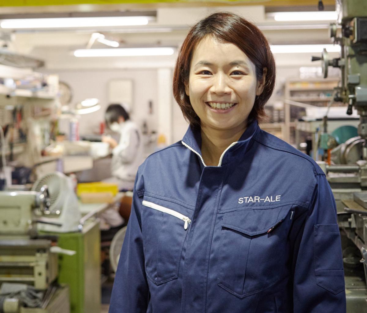 同社の創設者で代表取締役の岡島礼奈さん