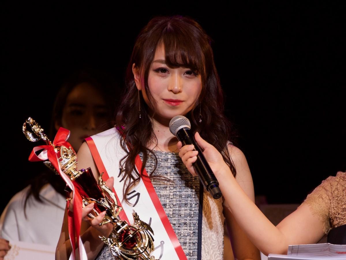 「ミス・オブ・ミス・キャンパス・クイーン・コンテスト2019」グランプリに輝いた中村優花さん