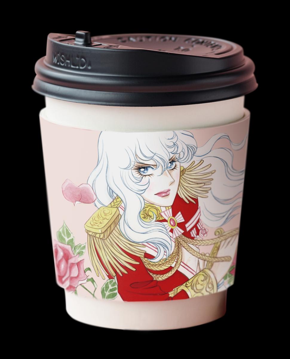 「KIOI ROSE CAFE」の限定メニュー「オスカルの HOT CHOCOLAT」
