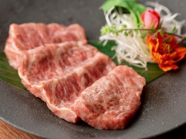 常陸牛や仙台牛などA5ランクの肉を使う同店