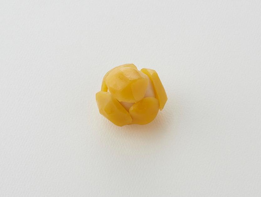 9月9日から販売する生菓子の「栗鹿の子」