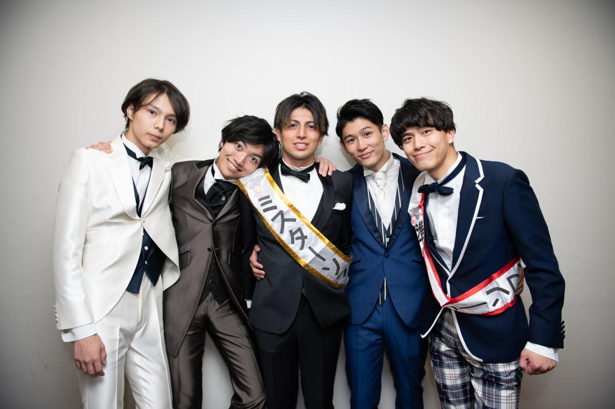 左から野口瑠音さん、引地大さん、福島秋央さん、菅原昌平さん、長沼哲平さん