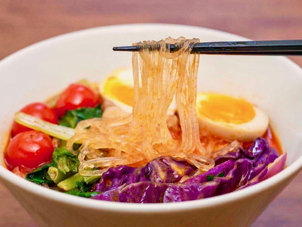 春雨麺を使った「麻辣湯」