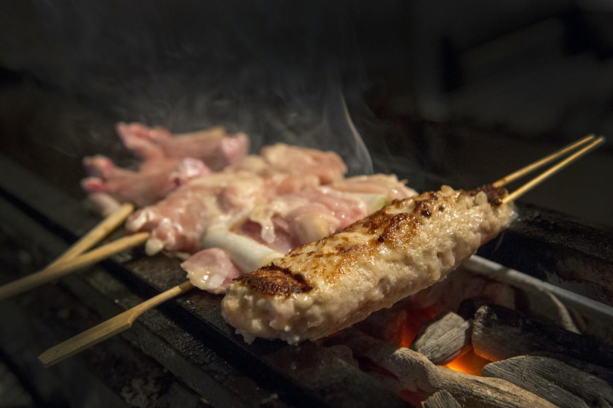 山梨県の銘柄鶏「甲斐の極み鶏」を使った焼き鳥