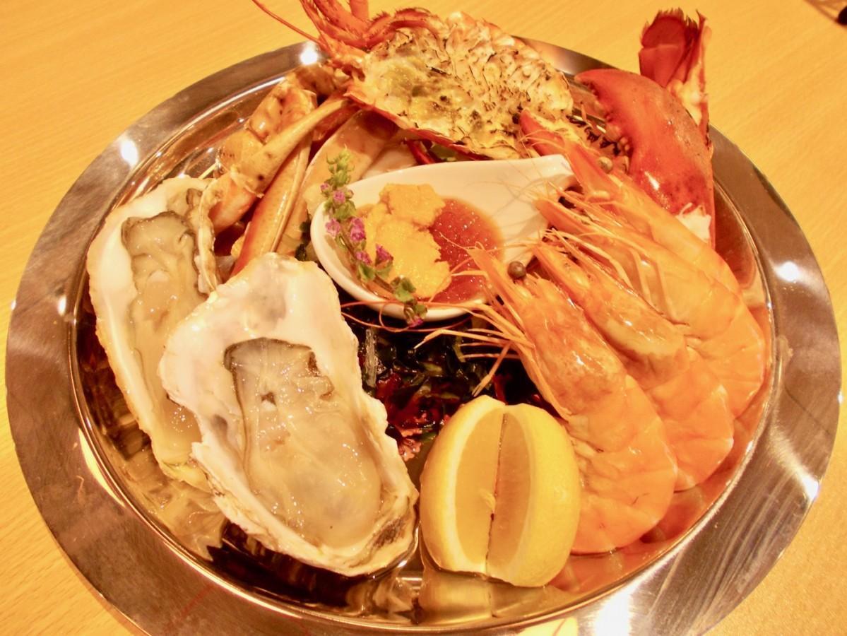 「Crab shrimp プレート(2~3人用)」