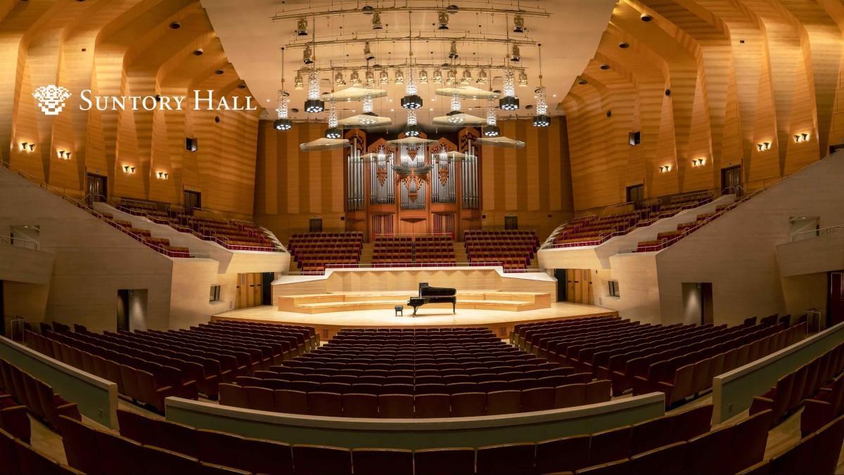 サイトで配布している壁紙画像「サントリーホール 大ホール」