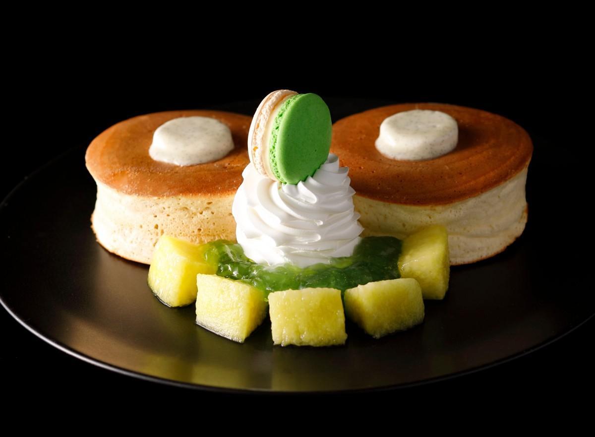 季節限定の「ホテルニューオータニ特製メロンパンケーキ」