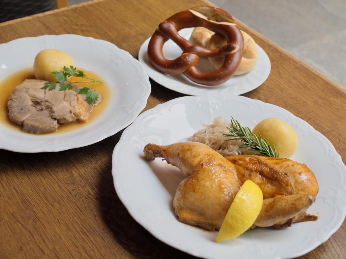 提供されるドイツ料理