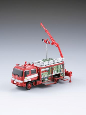 レッカー付救助車