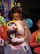 映画「ケロロ軍曹2」公開記念で「夏美」コスプレコンテスト