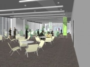 UDX4階にプレゼン、セミナーにも対応する大型展示会場開設へ