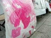 秋葉原に「萌えるゴミぶくろ」-千代田区さくらフェスに合わせ販売