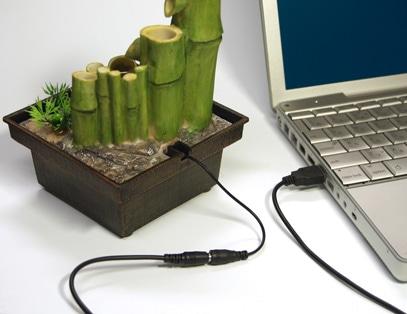画像=USB箱庭 水のある風景 ししおどし