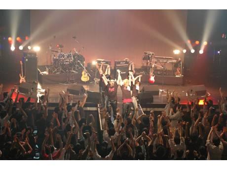 画像=jdk LIVE 2008 springのようす