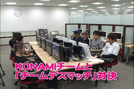 画像=KONAMIチームとデスマッチ ©2009 ENTERBRAIN, INC.