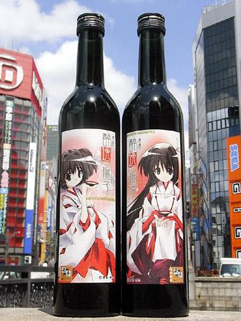 画像=左:純米酒、右=吟醸酒