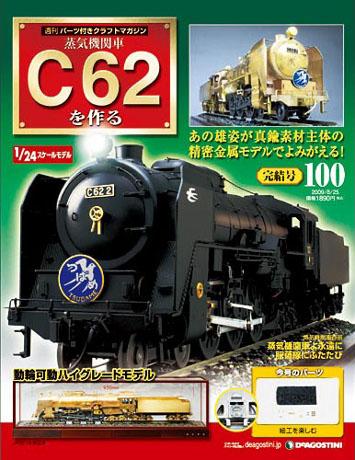 画像=蒸気機関車 C62 を作る