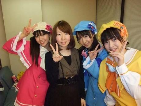 画像=左から三森すずこさん、佐々木未来さん、橘田いずみさん、徳井青空さん